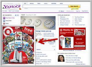 Target & Yahoo Ad